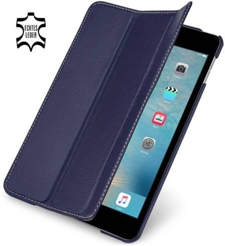 Etui skórzane Stilgut Couverture Apple iPad Mini 4 Granatowe