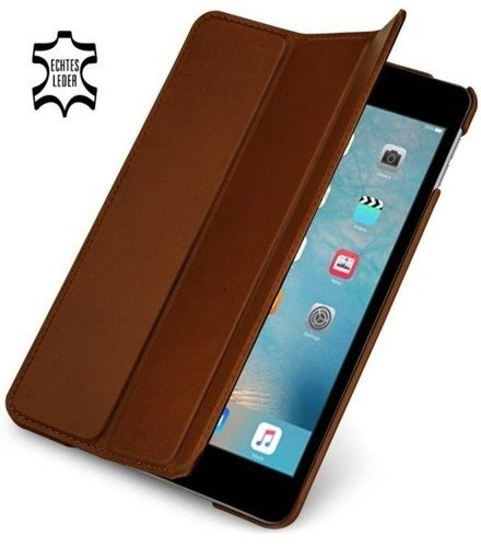 Etui skórzane Stilgut Couverture Apple iPad Mini 4 Koniakowe