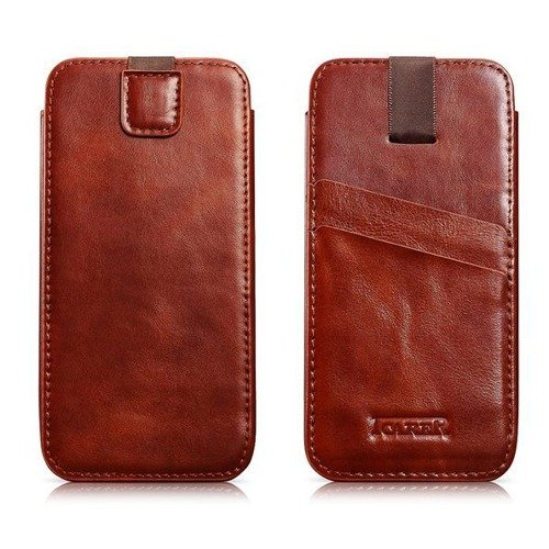Etui wsuwka iCarer Sleeve Apple Brown | iPhone 6 Plus / 6S Plus