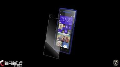 Folia invisible SHIELD na ekran - HTC Windows Phone 8X