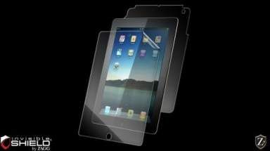Folia invisible SHIELD na ekran i tył - iPad 2