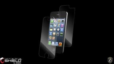Folia invisible Shield High Definition (HD) na ekran i tył  - iPhone 5 5S