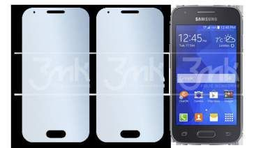 Folia ochronna 3MK Solid do Samsung Galaxy Ace 4 (2 sztuki)