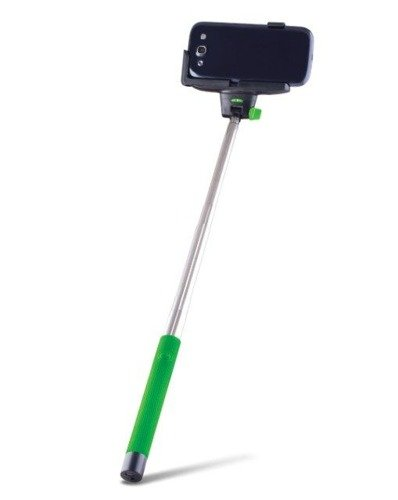 Forever MP-100 Zielony | Monopod SelfieStick | Bluetooth