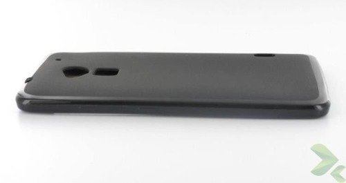 Geffy - Etui HTC One Max TPU solid color black