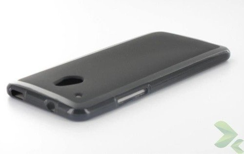 Geffy - Etui HTC One Mini TPU solid color black
