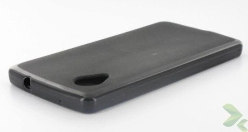 Geffy - Etui LG Nexus 5 TPU solid color black
