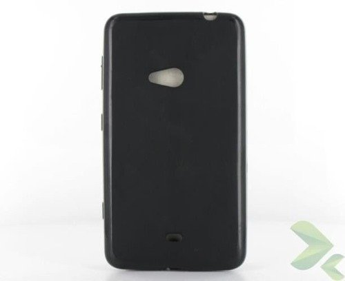 Geffy - Etui Nokia Lumia 625 TPU solid color black