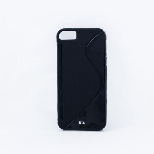 Geffy - Etui iPhone 5/5S TPU S black