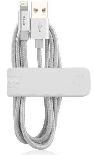 JCPAL Dual Lightning Cable Srebrny | Kabel Lightning dla Apple