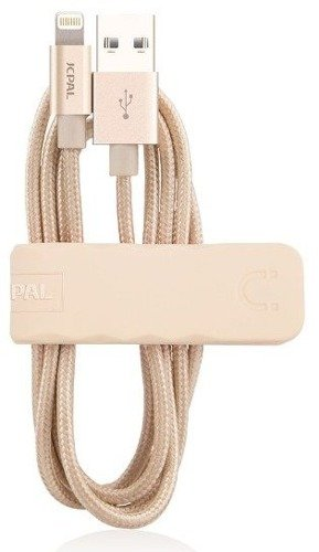 JCPAL Dual Lightning Cable Złoty | Kabel Lightning dla Apple