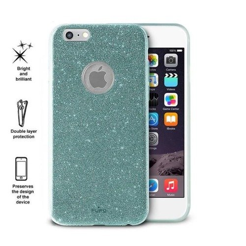 Obudowa PURO Glitter Shine Cover Apple iPhone 6 / 6S Aquamarine