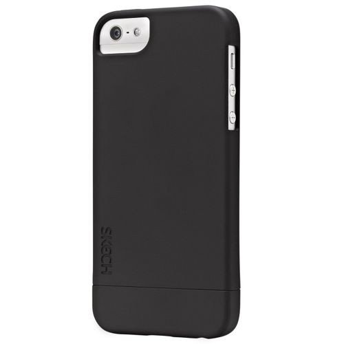 Obudowa Skech Hard-Rubber Slim Case iPhone 5/5S Czarna