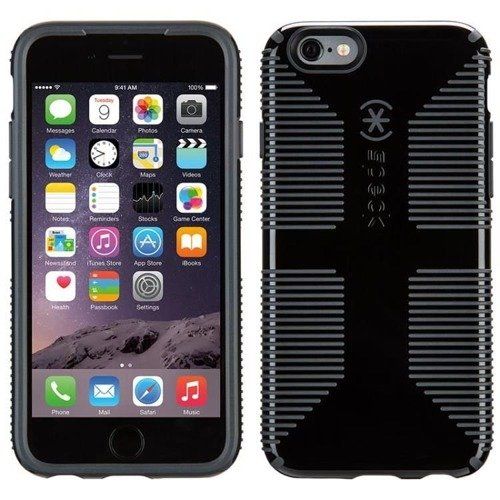 Obudowa Speck CandyShell Grip Apple iPhone 6 / 6S Czarny
