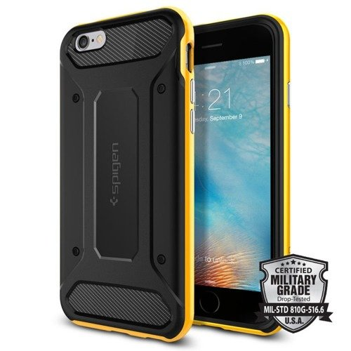 Obudowa Spigen Neo Hybrid Carbon Apple iPhone 6 / 6S Reventon Yellow