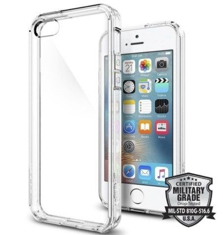 Obudowa Spigen SGP Ultra Hybrid Crystal Clear dla Apple iPhone 5 / 5S / SE