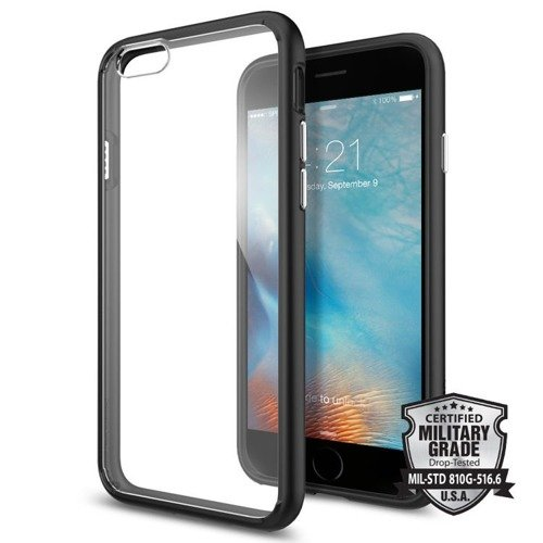 Obudowa Spigen Ultra Hybrid Apple iPhone 6 / 6S Black