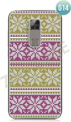Obudowa Zolti Ultra Slim Case - Huawei G8 - Girls Stuff - Wzór G14