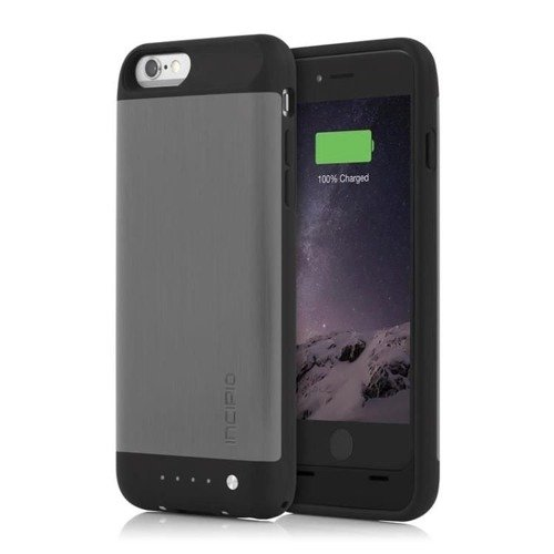 Obudowa z baterią 3000 mAh Incipio offGRID SHINE Case Apple iPhone 6 / 6S Tytanowy