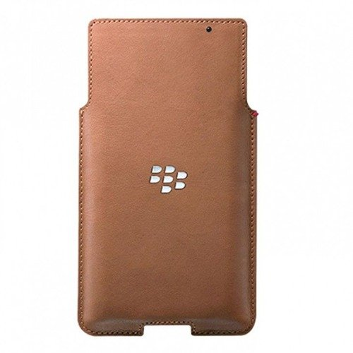 Oryginalne etui Blackberry Leder-Pocket - Blackberry PRIV ACC-62172-002 Brązowe