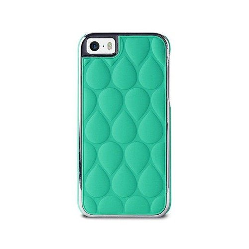 PURO GLAM Drop Matellasse - Etui iPhone 5 / 5S / 5SE (morski)