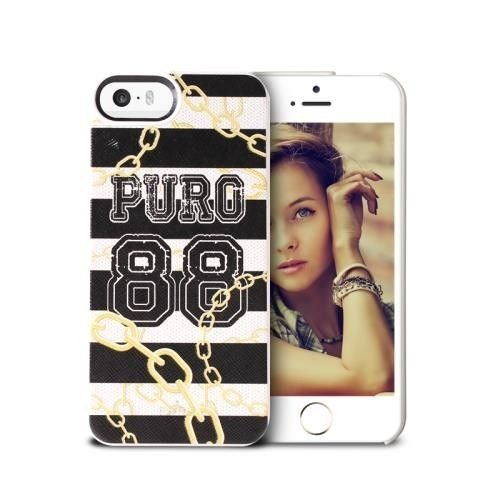 PURO Lifestyle 88 - Etui iPhone 5/5S (Chain)