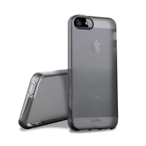 PURO Plasma Cover - Etui iPhone 5 5S (czarny)