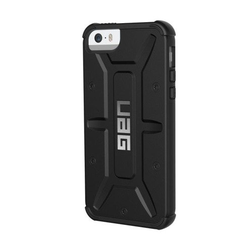 Pancerna obudowa Urban Armor Gear Folio Apple iPhone 5 / 5S / SE Black