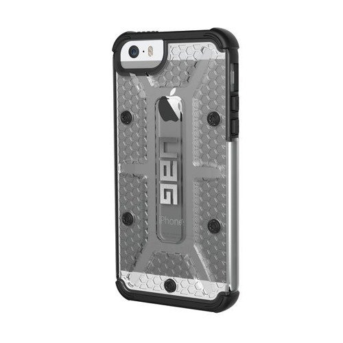 Pancerna obudowa Urban Armor Gear Folio Apple iPhone 5 / 5S / SE Ice / Black