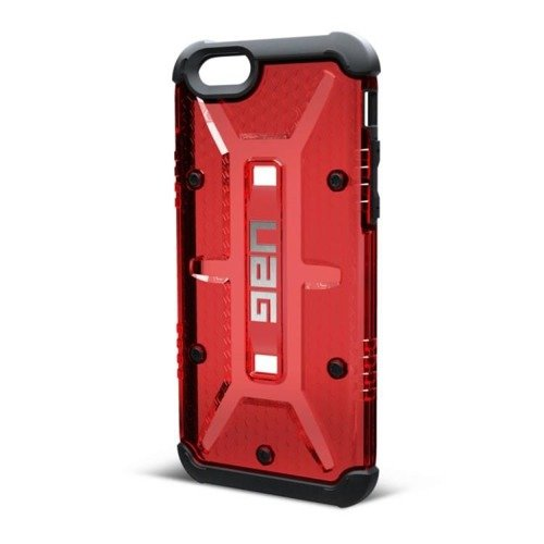 Pancerna obudowa Urban Armor Gear Folio Apple iPhone 6 / 6S Red / Black