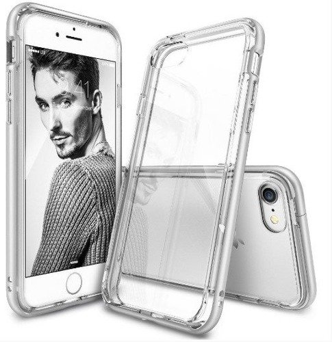 Rearth Ringke Frame Ice Silver | Obudowa + folia ochronna dla modelu Apple iPhone 7
