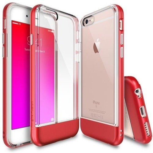 Rearth Ringke Old Frame Fire Red | Obudowa + folia ochronna dla modelu Apple iPhone 6 / 6S