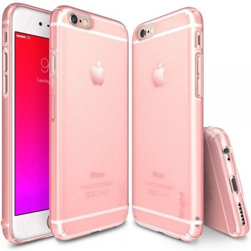 Rearth Ringke Slim Frost Pink | Obudowa + folia ochronna dla modelu Apple iPhone 6 / 6S