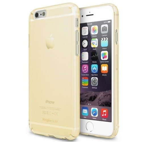 Rearth Ringke Slim Frost Yellow | Obudowa + folia ochronna dla modelu Apple iPhone 6 / 6S