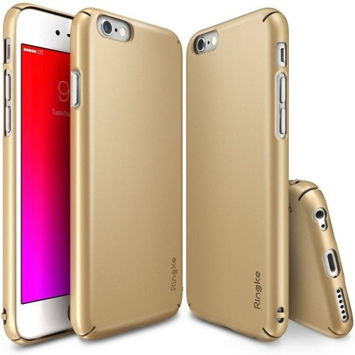 Rearth Ringke Slim Royal Gold | Obudowa + folia ochronna dla modelu Apple iPhone 6 Plus / 6S Plus