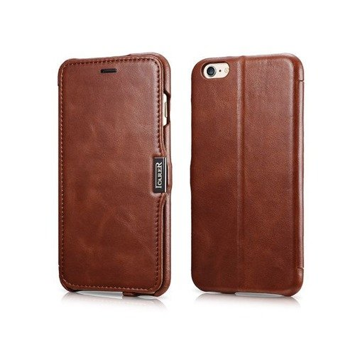 Skórzane etui iCarer Side Open Vintage Brown | Apple iPhone 6 Plus / 6S Plus