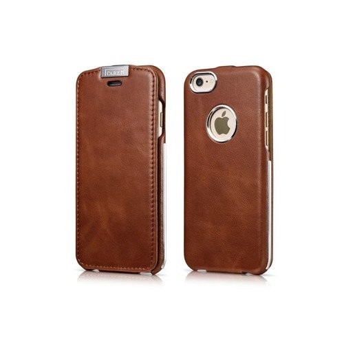 Skórzane etui iCarer Warrior Vintage Brown | Apple iPhone 6 / 6S