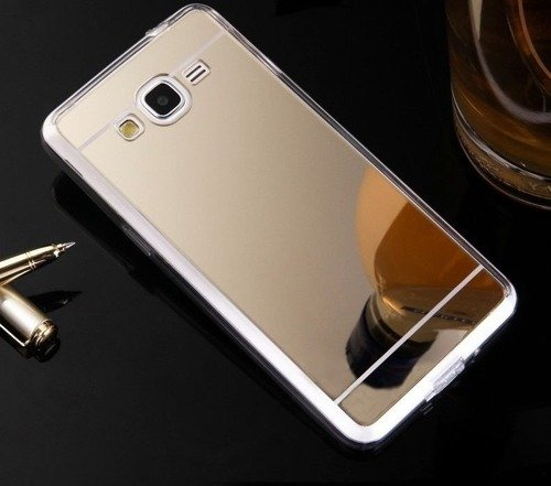 Slim Mirror Case Złoty | Etui dla Samsung Galaxy Grand Prime