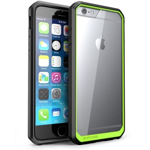Supcase Premium Hybrid Green / Black | Obudowa dla modelu Apple iPhone 6 Plus / 6S Plus