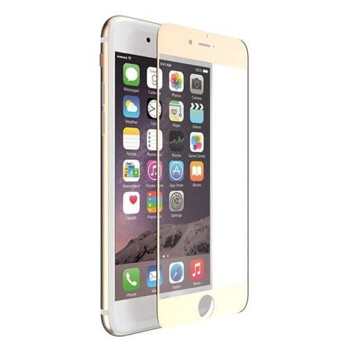 Szkło ochronne 9H 0,33mm X-Doria Aster Tempered Glass Apple iPhone 7 Plus Złota ramka