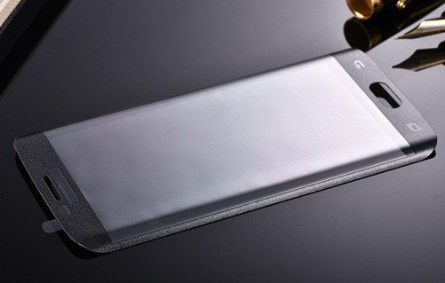 Szkło ochronne Perfect Glass Samsung Galaxy S6 Edge Plus Czarne