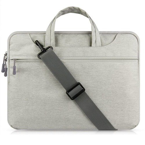 TECH-PROTECT Beltie Light Grey | Torba dla Apple MacBook Air / Pro 13