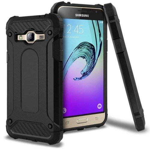 TECH-PROTECT Future Armor Black | Obudowa dla Samsung Galaxy J3 2016