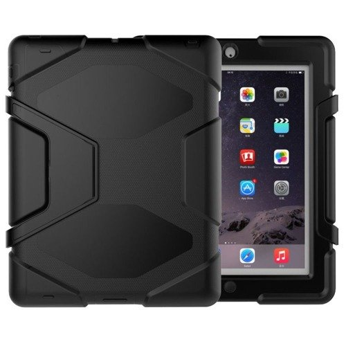 TECH-PROTECT Survive Black | Obudowa Apple iPad 2 / 3 / 4