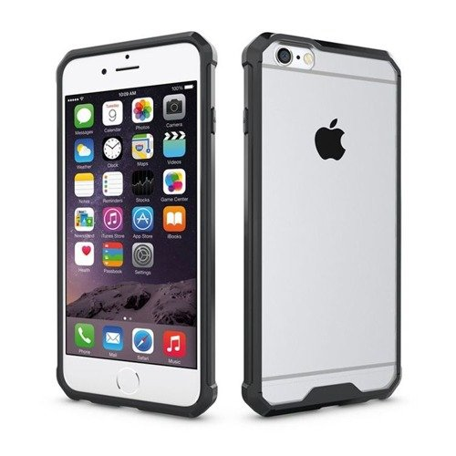 Tech-Protect Air Hybrid Black | Obudowa dla Apple iPhone 6 / 6S