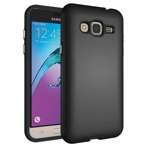 Tech-Protect Defense Black | Obudowa dla Samsung Galaxy J3 2016