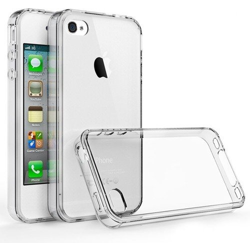 Tech-Protect Slim Hybrid Crystal | Obudowa dla Apple iPhone 4 / 4S