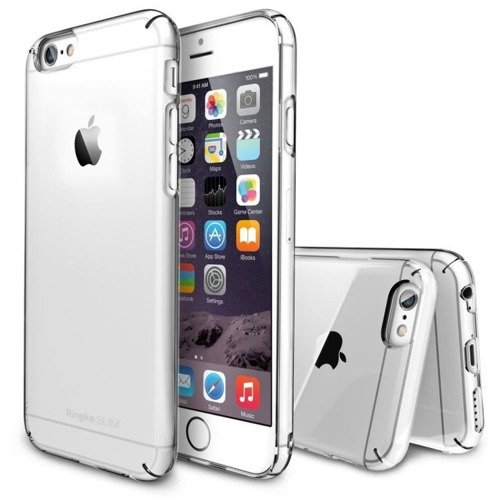 Zestaw Rearth - Obudowa Ringke Slim Crystal + folia na ekran Apple iPhone 6 / 6S