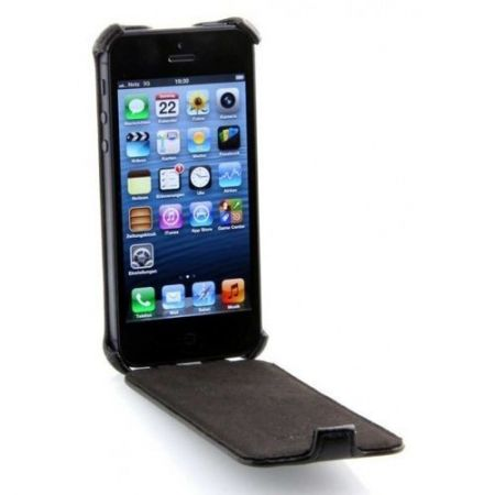 Etui Stilgut Slim Case A - czarne - iPhone 5 5S