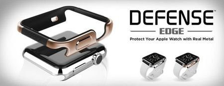Aluminiowy bumper do Apple Watch 42mm X-Doria Defense Edge Czerwony